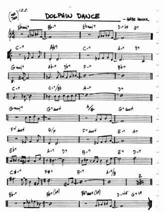 Elucidesia - jazz score
